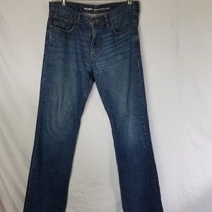 Old Navy Boot Cut Mens Jeans Distressed 34 x 34
